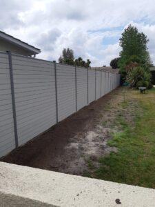 31ml clôture composite couleur écume ht 2m00 a Gujan Mestras